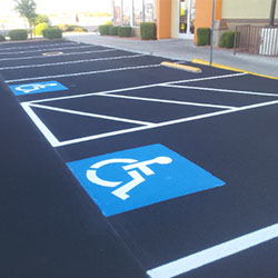 ADA Handicap Parking Lot compliance